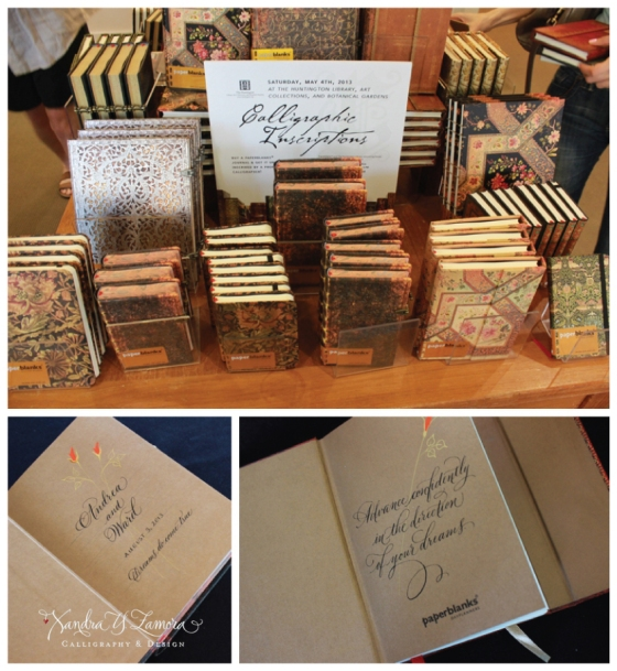 Paperblanks Event at The Huntington Library